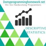DO MY DESCRIPTIVE STATISTICS HOMEWORK