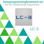DO MY LC-3 HOMEWORK