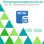 DO MY  MS SQL HOMEWORK