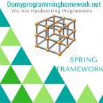 DO MY SPRING FRAMEWORK HOMEWORK