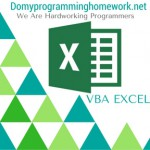 DO MY VBA EXCEL HOMEWORK