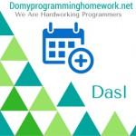 Do My Dasl Homework
