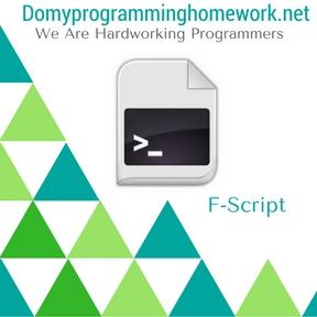 Do My F-Script Homework