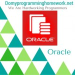 Do My Oracle Homework