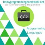 Do My Programming Languages Homework