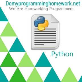 Do My Python Homework