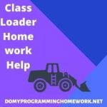 Class Loader Assignment Help