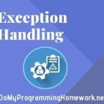 Exception Handling Assignment Help